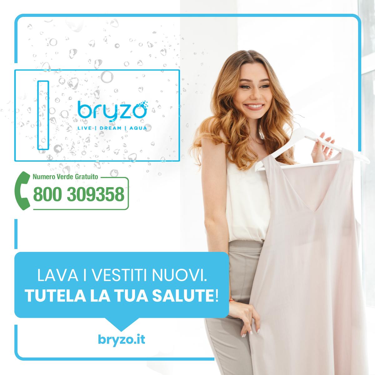 Perché è importante lavare i vestiti nuovi – Bryzo